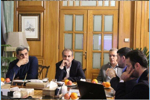 دیدار شهردار تهران و رئیس اورژانس کشور