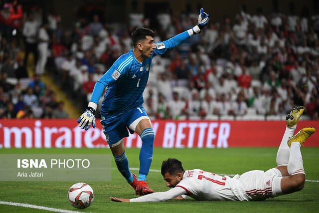 دیدار تیمهای فوتبال ایران و ژاپن