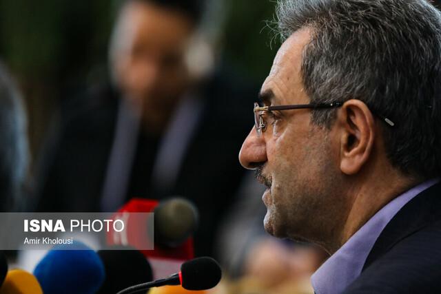نشست خبری انوشیروان محسنی بندپی استاندار تهران