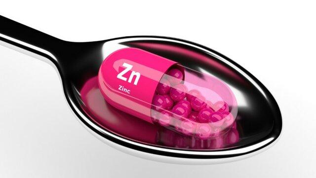 زینک روی املاح معدنی ویتامین