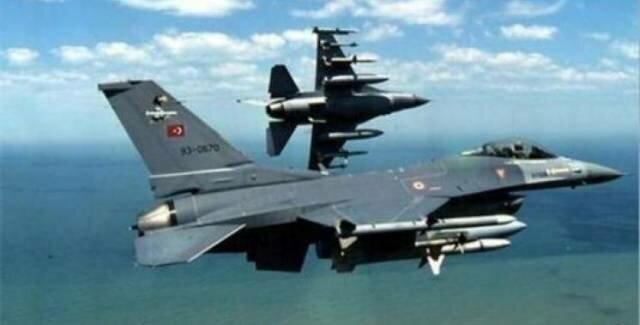 جنگندههای ترکیه