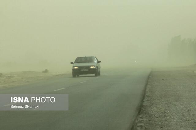 طوفان ۱۱۹ کیلومتر برساعت زابل