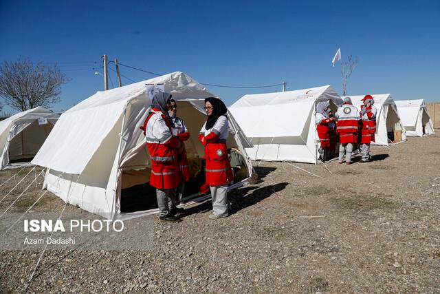 مانور منطقه ای بهداشت و درمان اضطراری - قزوین