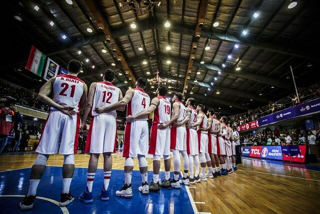 بازی تیم ملی بسکتبال ایران و ژاپن
