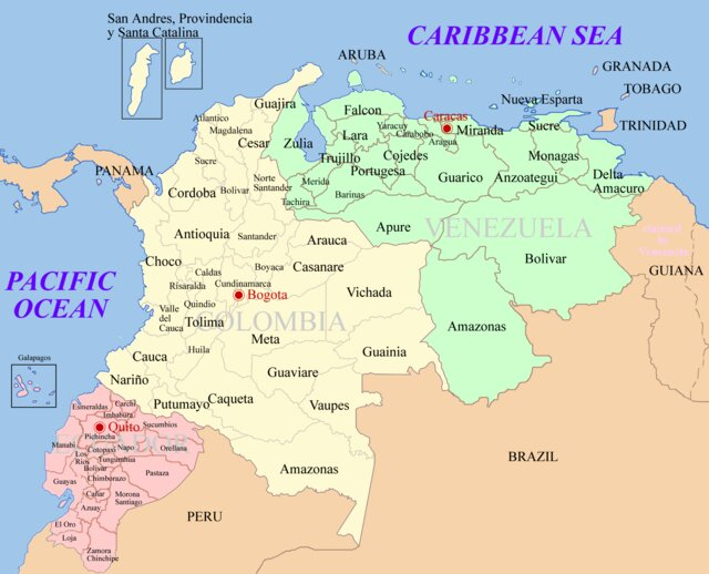 ونزوئلا و کلمبیا
