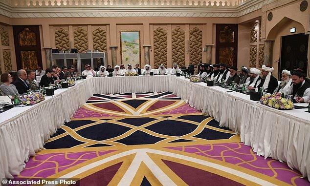 مذاکرات طالبان آمریکا در دوحه