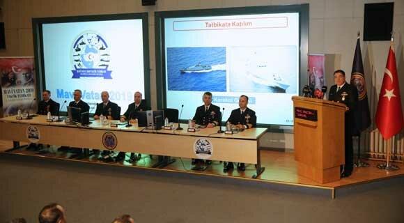 رزمایش دریایی بحرین و ترکیه