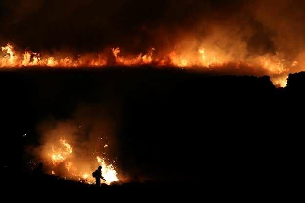 آتشسوزی طبیعی