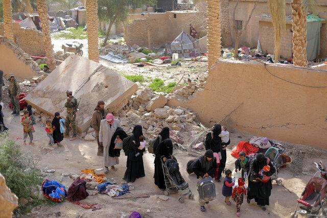 داعشیها در الباغوز