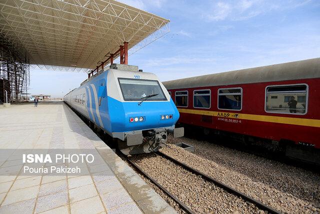 قطار تهران به همدان