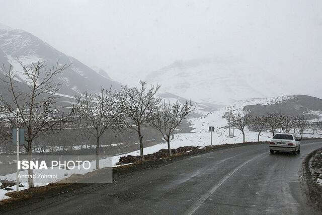 قله برف انبار قم در روزهای پایانی سال