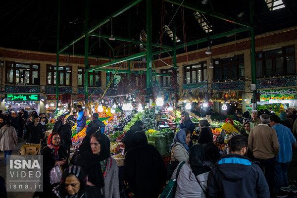 وضعیت بازار شب عید و قدرت خرید مردم
