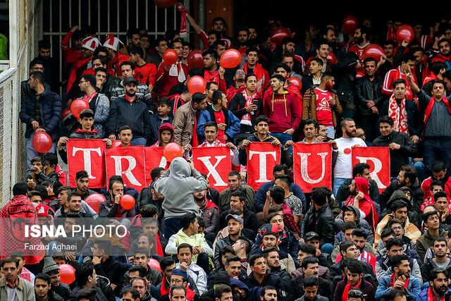 هفته بیست و چهارم لیگ برتر - دیدار تیمهای تراکتورسازی و صنعت نفت آبادان