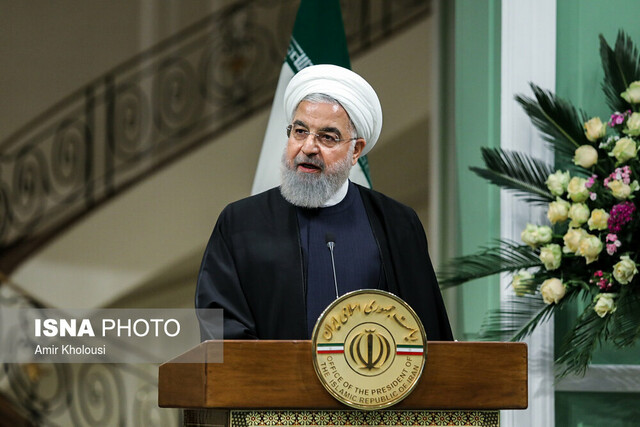 کنفرانس خبری مشترک حسن روحانی، رییس جمهور و عادل عبدالمهدی، نخست وزیر عراق