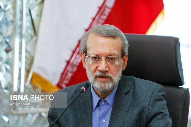 نشست علی لاریجانی با اعضای کمیسیون تولید ملی و با حضور چند وزیر
