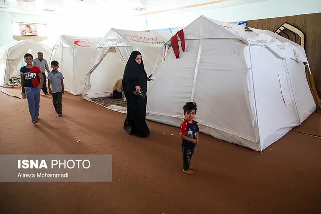 کمپ سیلزدگان ثامن الائمه - حمیدیه