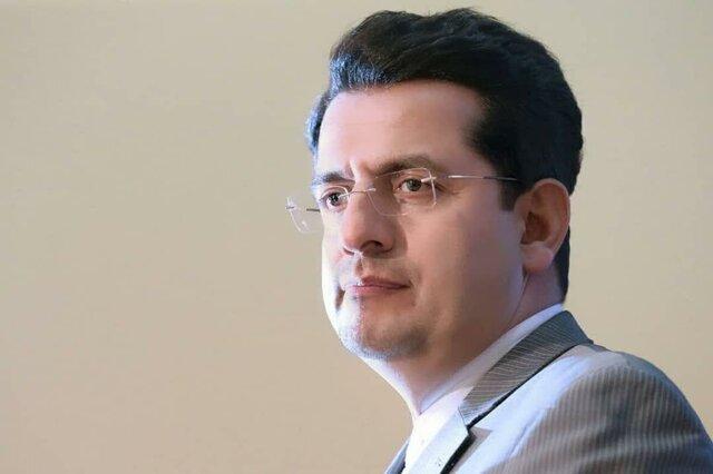 سیدعباس موسوی . سخنگوی وزارت خارجه