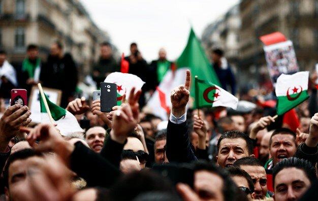 تظاهرات الجزایر