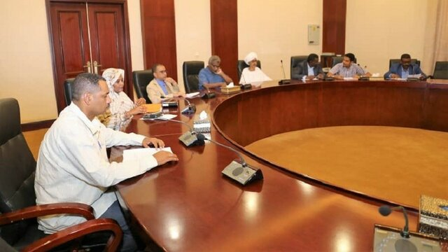 نشست شورای نظامی و گروههای عضو ائتلاف آزادی و تغییر در سودان