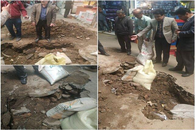 حادثه راسته حلبیسازان بازار قزوین