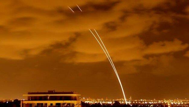 حملات راکتی به اسرائیل