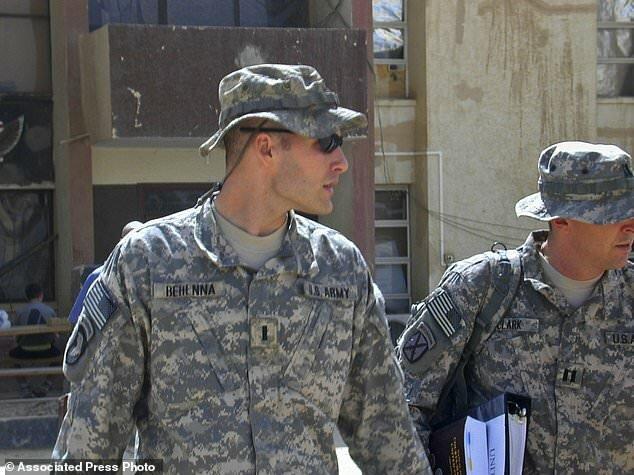 مایکل بهنا، سرباز سابق ارتش آمریکا