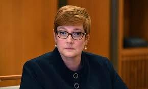 مریس پاین وزیر امور خارجه استرالیا
