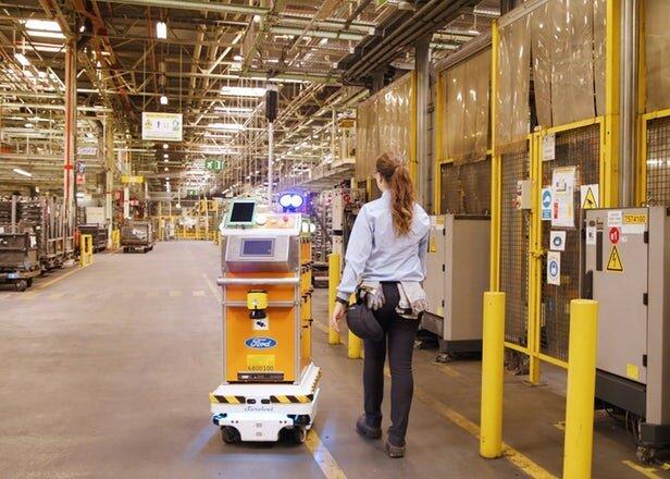 ربات کارخانه فورد