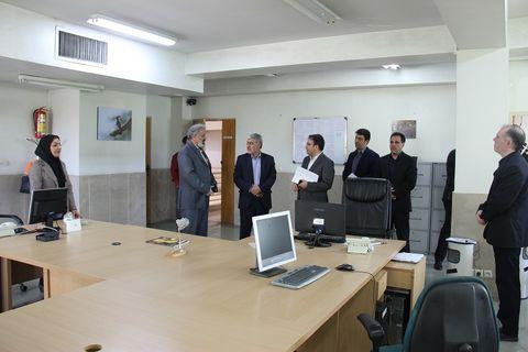 مدیرشعب بانک سپه استان اصفهان از ایرنا بازدید کرد
