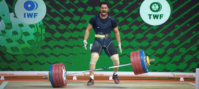 بیرالوند: المپیک 2020 در دسته 109 کیلوگرم وزنه میزنم
