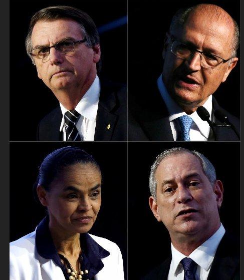 کاندیداهای انتخابات برزیل