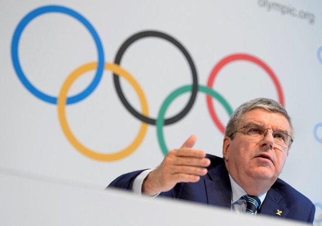 توماس باخ کمیته بین المللی المپیک