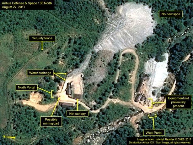 سایت اتمی کره شمالی