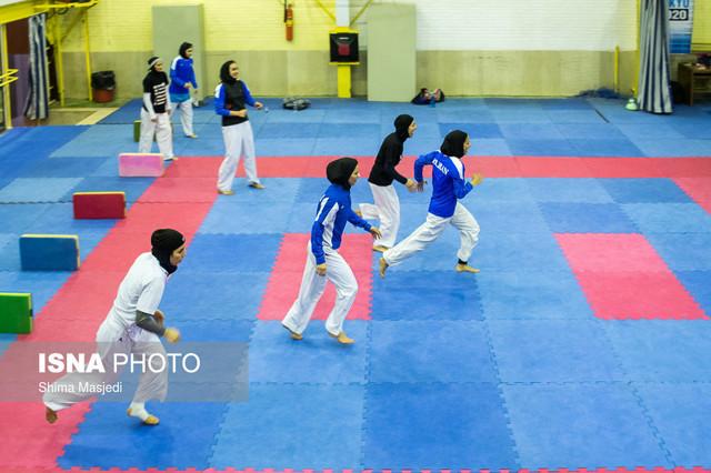 اردوی تیم ملی کاراته بانوان