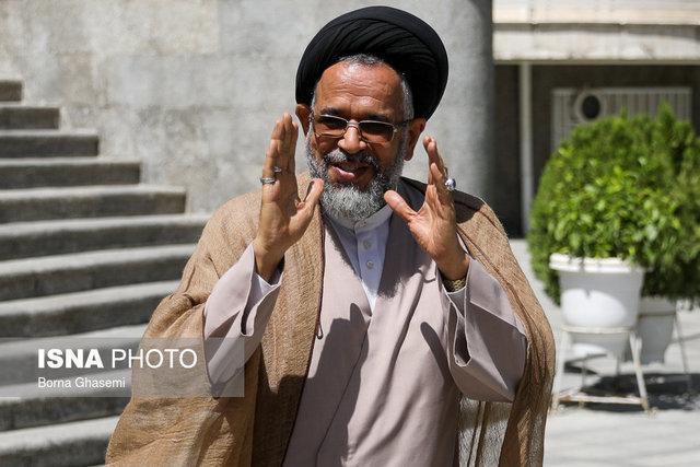 وزیر اطلاعات محمود علوی