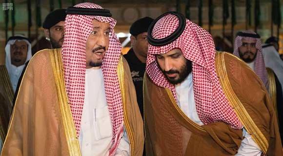 پادشاه و ولیعهد عربستان