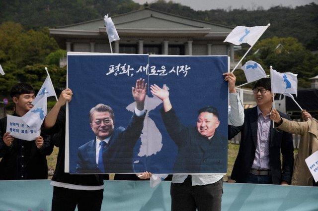 پرچم های اتحاد مجدد دو کره