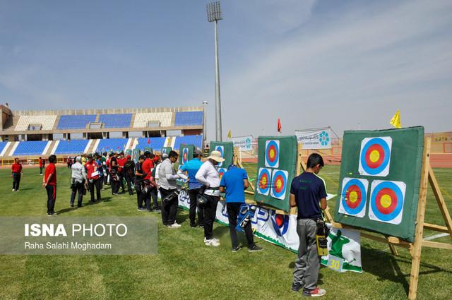 اولین مرحله رنگینگ قهرمانی کشور و انتخابی تیم ملی تیر و کمان - بیرجند