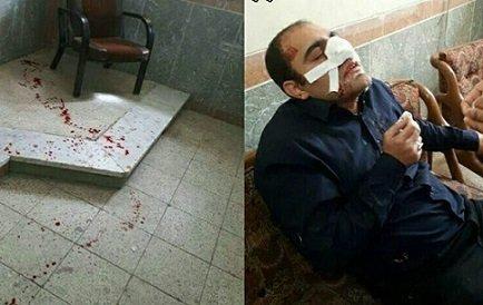 ضرب و شتم معلم خوزستانی