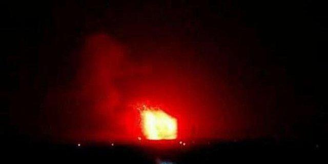 حملات موشکی به ارتش سوریه