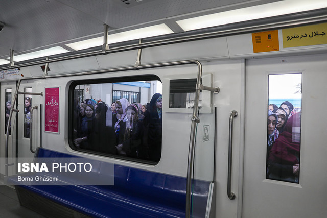 ورود واگنهای جدید به شبکه مترو تهران