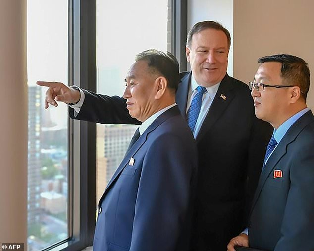 پامپئو چول کره شمالی