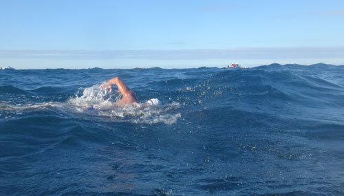 شنا در دریا
