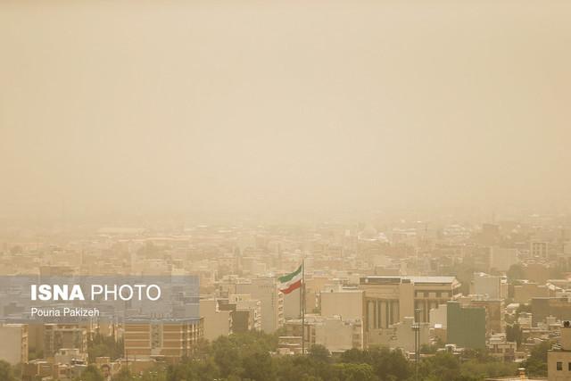 آلودگی هوای همدان