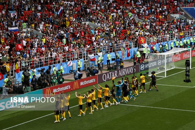 دیدار تیم های فوتبال بلژیک و تونس
