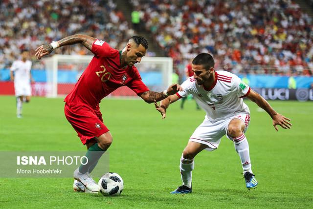 دیدار تیمهای ایران و پرتغال سومین بازی مرحله گروهی