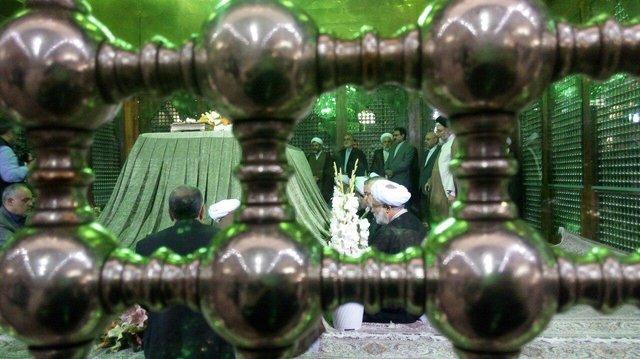 تجدید میثاق مسئولان عالی قضایی با آرمانهای امام راحل (ره)