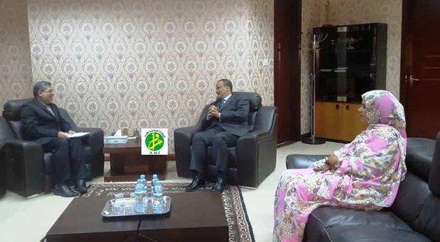 وزیر امور خارجه موریتانی