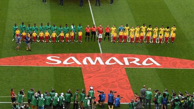 کلمبیا - سنگال