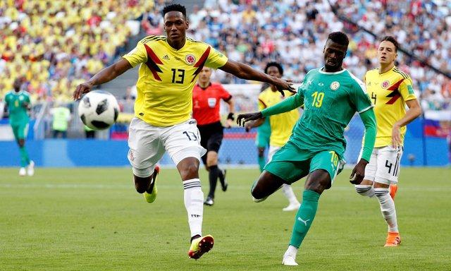 سنگال - کلمبیا
